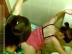 Voyeur Asian Toilet Sex