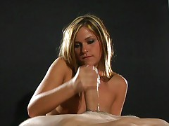 So cute handjob babe McKenzee