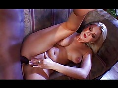 Blonde gets it in all holes