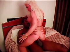 Victoria milking black cock with all she has