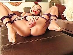 Bound and horny