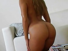 Perfect slim body cum