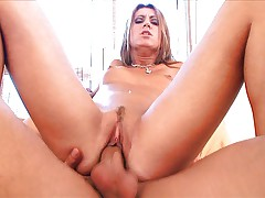 Nice girl Cory Devil is nicely fucked
