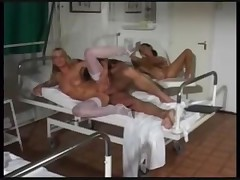 Threesome with the nurses