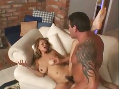 Hairy pussy is fun to fuck hard
