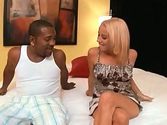 Babe Jayden Rose gets an interracial anal