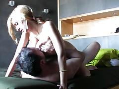 She has hot wobbling tits