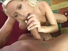 Tender Youthful Blond Swallows Thick Cum