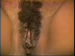 Short Haired Ebony Hottie Taking on Dickhead