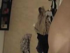 Girlfriend making my cock wet before penetration
