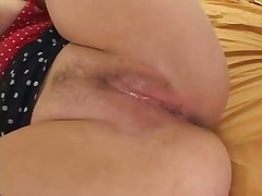 Blonde With Large Juggs Rides Long Dick