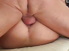 Kinky Melanie opens asshole for cock