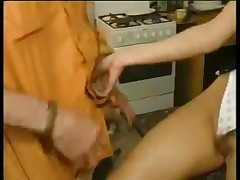 Natural Tit Blond Taking Fat Cock
