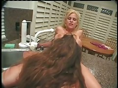 Tina Cheri sampling Felecias hard Nipples and soaked Vag