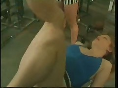 Busty Gym Whore Gets Jumbo Tool Workout