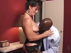 COUGAR Debella Is Whore For Dark Shaft
