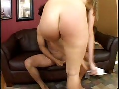 Harmony Rose Bent Over Sofa & Pounded