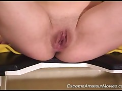 Sticking His Cock In Her Mouth And Pumping Up Her Pussy, Crazy Body Pissing And Sticking His Whole H