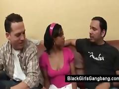 Olivia Winters - Gangbanged Black Teen Olivia