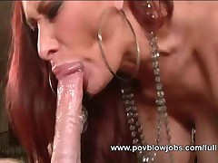 Tasty Babe Is Having Her Face Jizzed After Nice Oral Performance