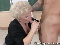 Alan Stafford And Mrs Jewell - My First Sex Teacher