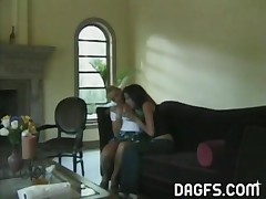 Two Of The Most Stunning Amateur Lesbians Share Some Cunnilingus Fun In This Addicting Scene