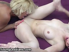 Naughty Mature Housewife Loves To Lick A Tight Teen Pussy Till She Cums By OldNYoungLesbians