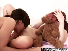 Super Hottie Babe Sucks On Her Lesbian Girlfriends Wet Pussy By PinkVelvetLesbians