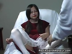Awesome Handjob Given By A Funny Asian Teenager 1 By RealAsianAmateur