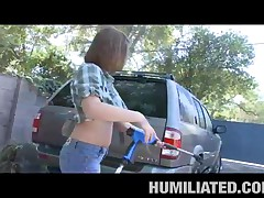 Sara Stone - MILF Humiliation - Wet Cum Wash