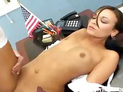Crissy Moon - Brunette Latina Teen Fucked Hard By Her Professor