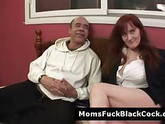 Busty Mature Redhead Debi Gets Cum On Her Face