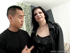 Nasty MILF Sucks & Gets Her Wet Pussy Fucked HardCore