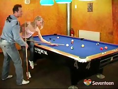 Fucking On The Pool Table