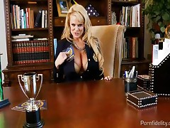 Kelly Madison - Headmaster MILF Kelly Madison Shows Her New Students All The Ins And Outs Of Being A