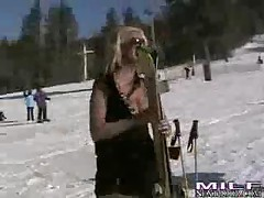 Emilianna - Milf Next Door Ski Bunnies