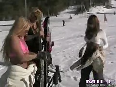 Emilianna - Milf Next Door Ski Bunnies