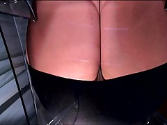 Another Facesitting Pov Under A Dominant Female In Pantyhose