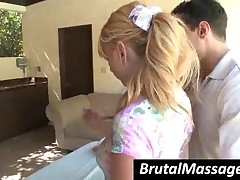 Lexi Belle - Superb Blondie Babe Gets Massaged By A Hot Dude