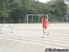 Free Jav Of Asian Amateur In Nude Track And Field Events 7 By JPflashers