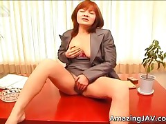Asian Redhead Fingering Her Pussy Porn Video 2 By AmazingJav