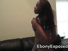 Ebony Shaking Her Bubble Ass For The Cam 1 By EbonyExposed