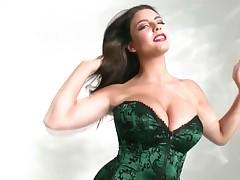 Desiree Elyda Villalobos - Green Corset