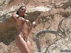 Beautifu Busty Woman Shows Her Amazing Body By EroticaSun