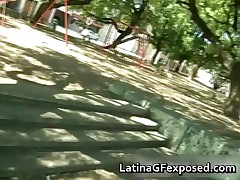 Busty Latin Babe Enjoying The Park In The Nude 1 By LatinaGFexposed