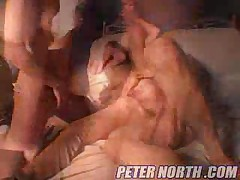 Jessica Darlin And Katie Morgan And Peter North - North Pole Vol 37