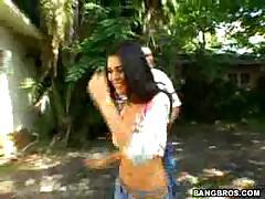 Paola Rey - Ball Honeys -Outdoor Fuck