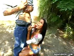 Paola Rey - Ball Honeys -Outdoor Fuck