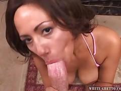 Felisha Honey - Cock Sucking Titty Fucking POV