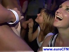Sweet Blonde Party Vixen Gives Head To Stripper